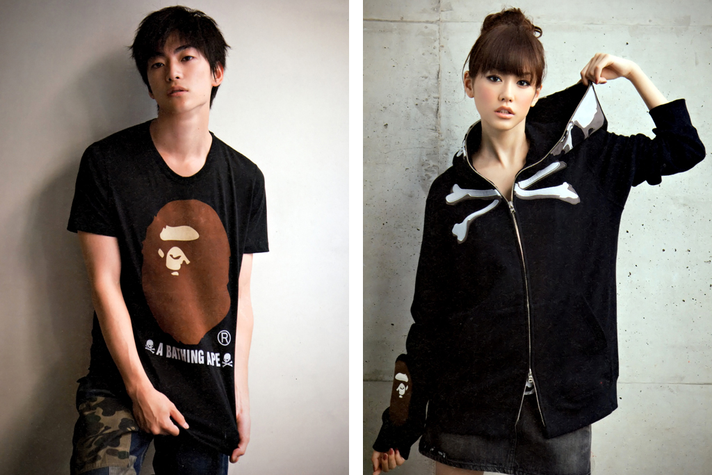 SMART Magazine: A Bathing Ape x mastermind JAPAN Capsule Collection Lookbook