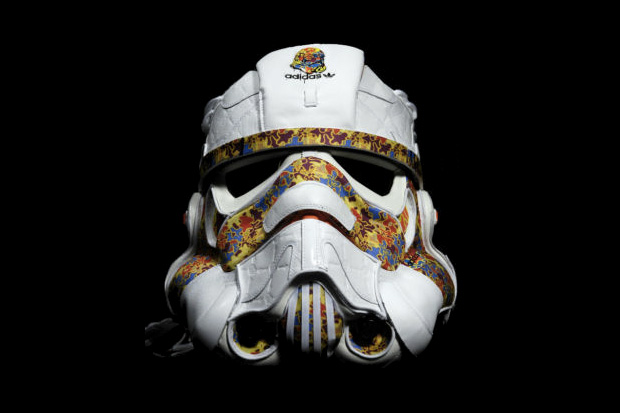 star wars remix adidas superskate mid storm trooper helmet