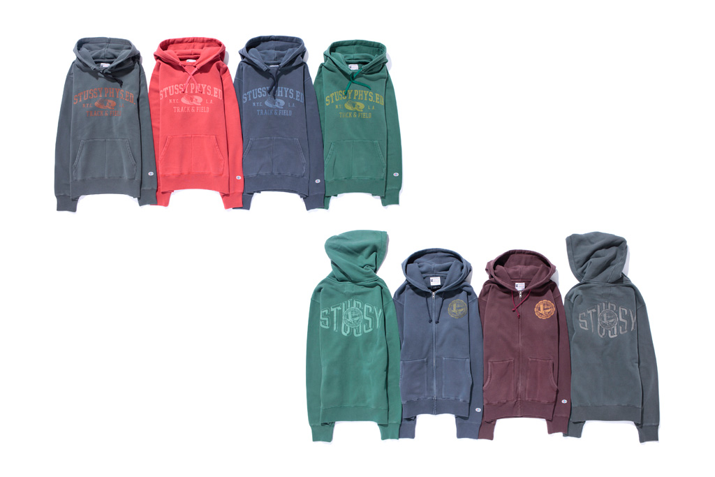stussy x champion rochester collection