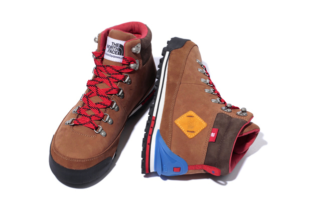 stussy deluxe x undefeated x the north face back to berkeley boots