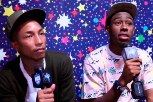 Sucker Free: Pharrell & Tyler Talk About Tyler's Best New Artist VMA Win