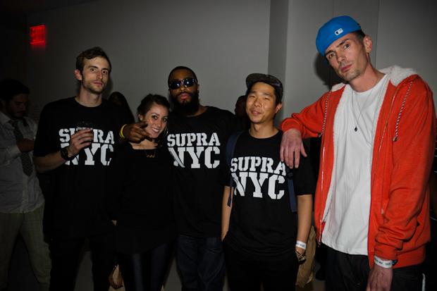 SUPRA NYC Store Opening Event Recap