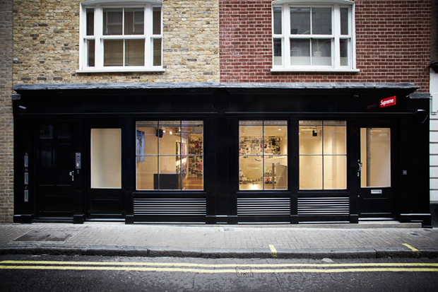 Supreme London Store Opening