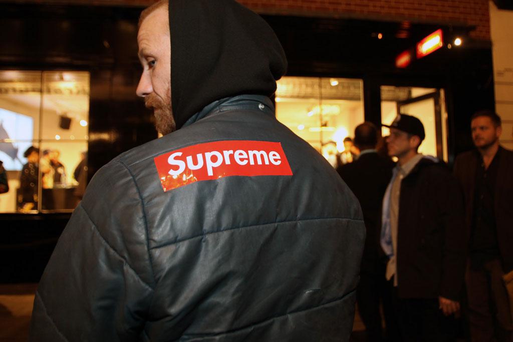 supreme london store opening recap