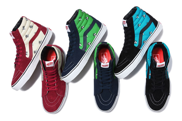 "Supreme x Vans 2011 Fall/Winter ""Flies"" Pack"