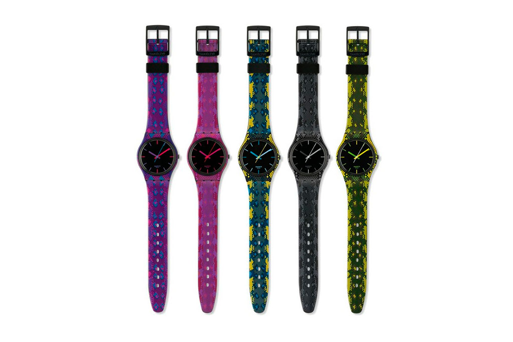 """SWATCH New Gent """"Reptile"""" Collection"""