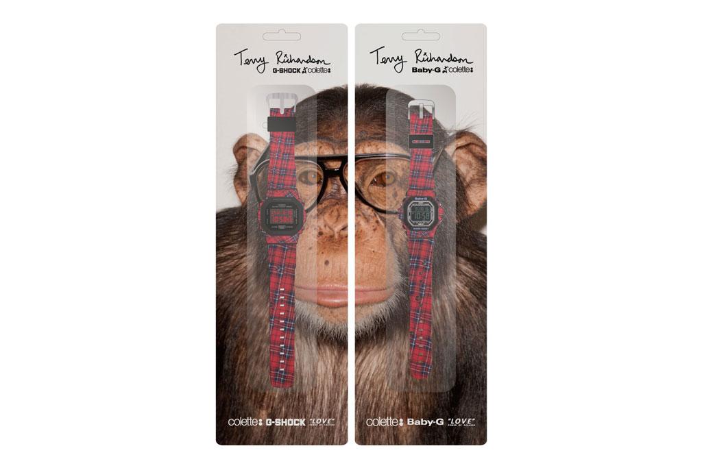 Terry Richardson x colette x Casio G-Shock & Baby-G Watch Set