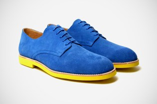 T&F Slack Shoemakers London Capri Suede Derby