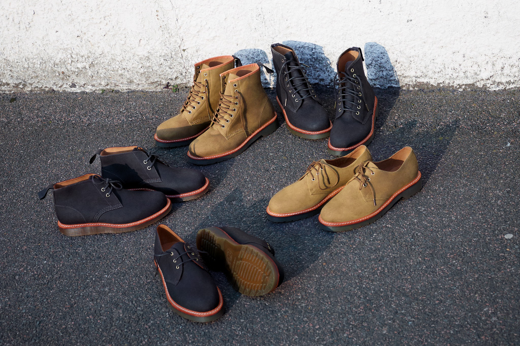 The British Millerain Co. x Dr. Martens 2011 Fall/Winter Collection
