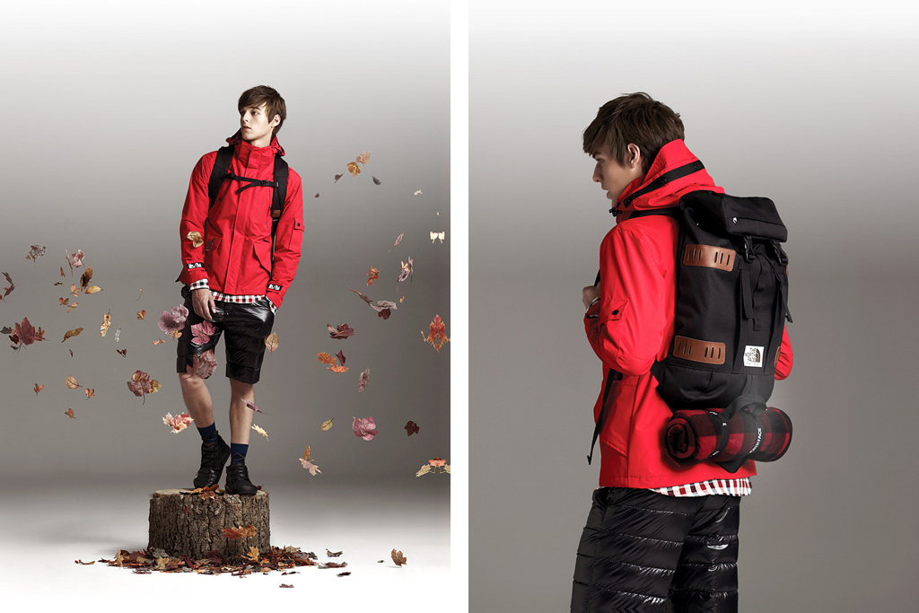 the north face 2011 fallwinter collection lookbook