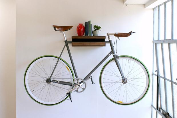 the original bike shelf by knife saw