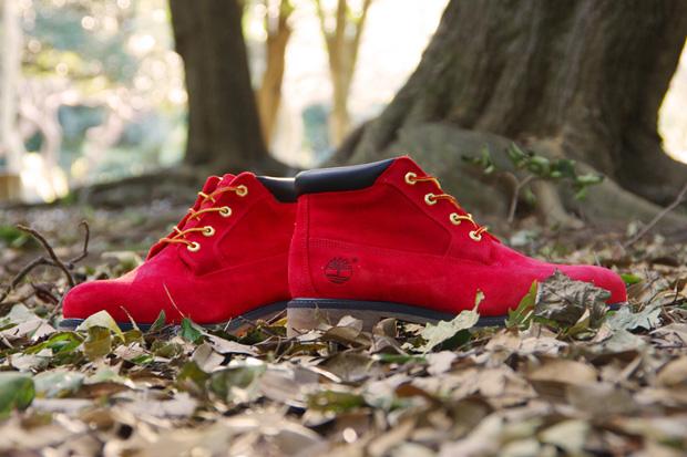 Kinetics x Timberland Chukka Boots