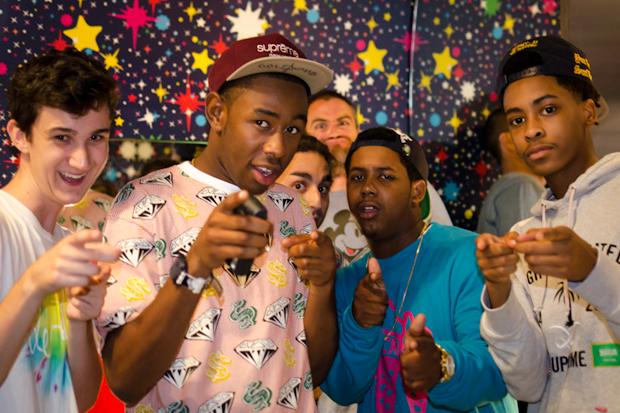 Streetsnaps: Tyler, the Creator @ Billionaire Boys Club, Fashion's Night Out