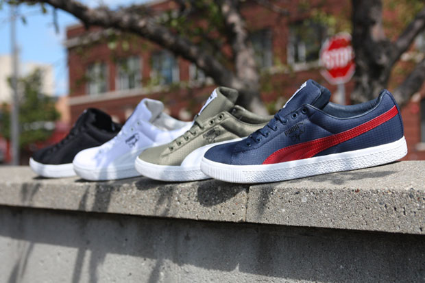 Undefeated x PUMA Ripstop Clydes