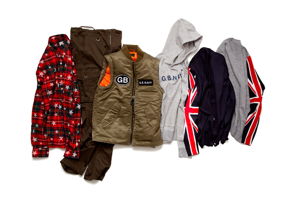 uniform experiment x ENGLATAILOR 2011 Fall/Winter Collection