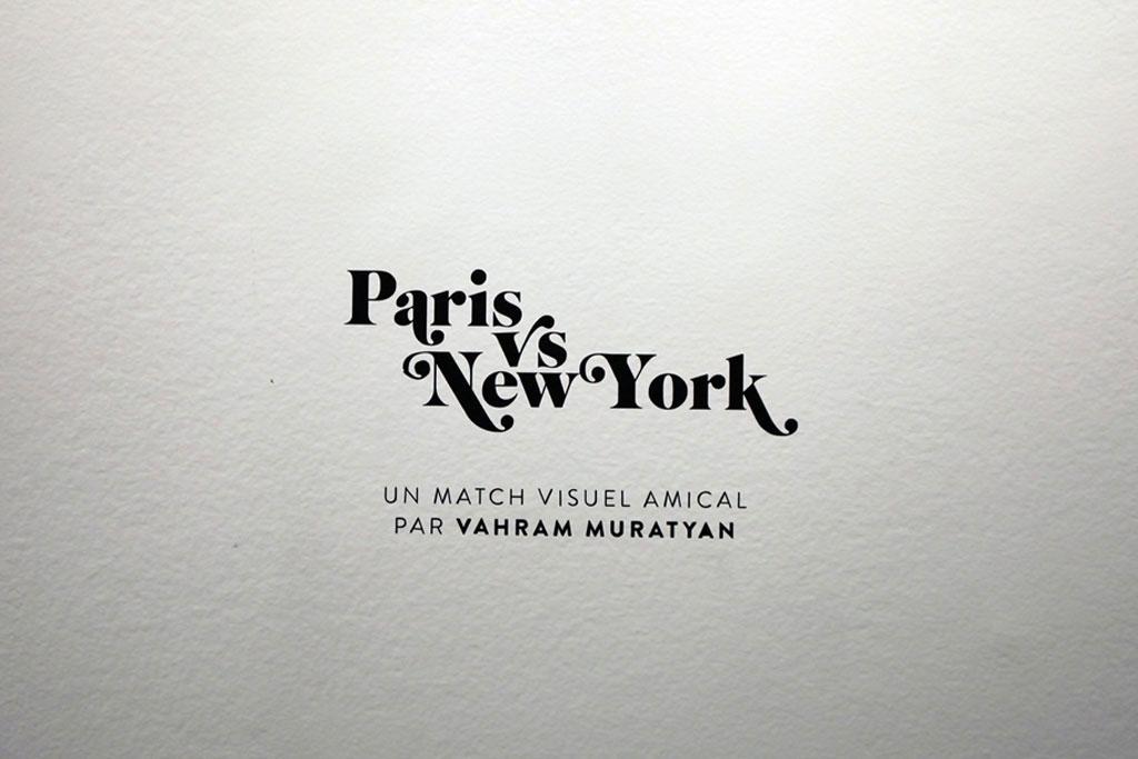 """Vahram Muratyan """"Paris vs New York"""" Exhibition @ colette"""