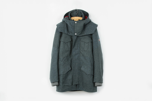 victorinox x christopher raeburn remade in switzerland captains coat