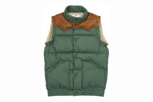 visvim 2011 Fall/Winter INSULATOR VEST