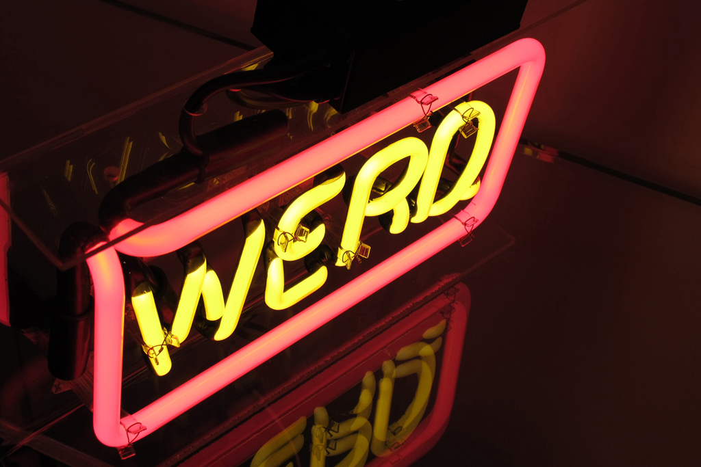 WORD PLAY NEON for Known Gallery by Patrick Martinez
