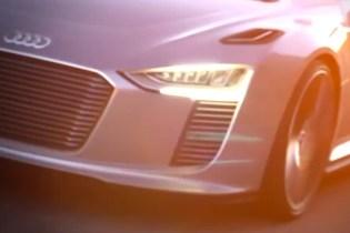 2014 Audi e-tron Spyder Video