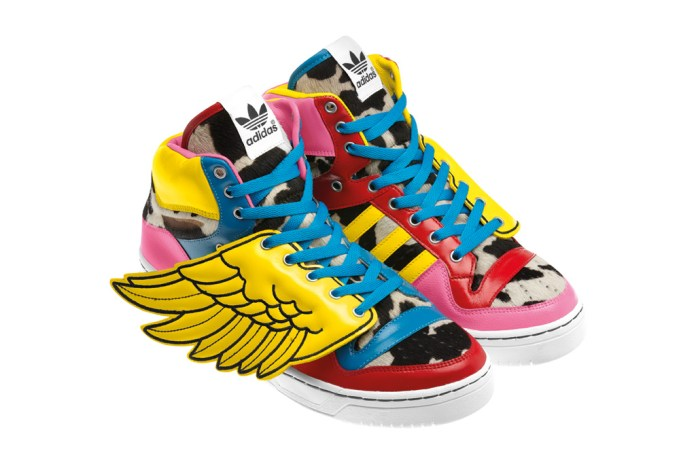 2NE1 x Jeremy Scott x adidas Originals JS Wings