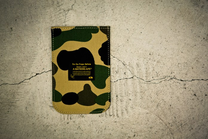 A Bathing Ape 1ST CAMO IPHONE CASE