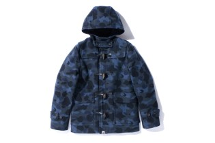 A Bathing Ape 1ST CAMO SHORT DUFFEL COAT