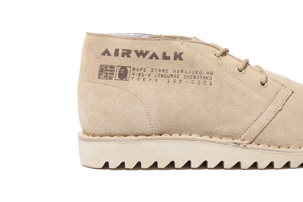 a bathing ape x airwalk everest boots further look