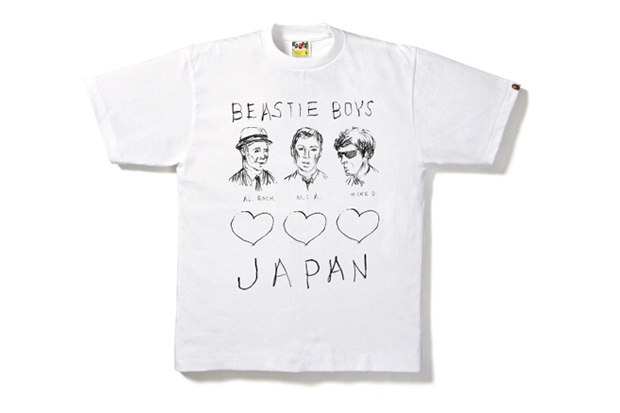 A Bathing Ape x Beastie Boys Charity Tee