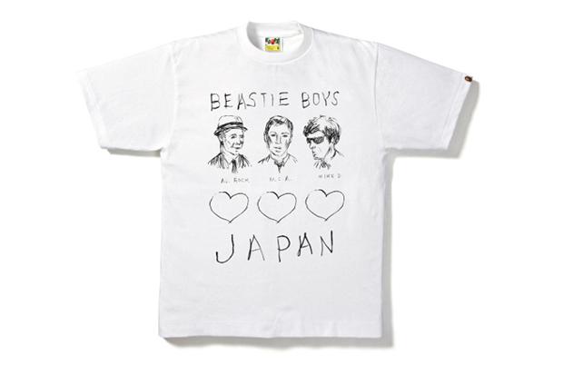 A Bathing Ape x Beastie Boys Charity Tee