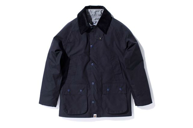 a bathing ape gore tex woven taffeta classic rain jacket
