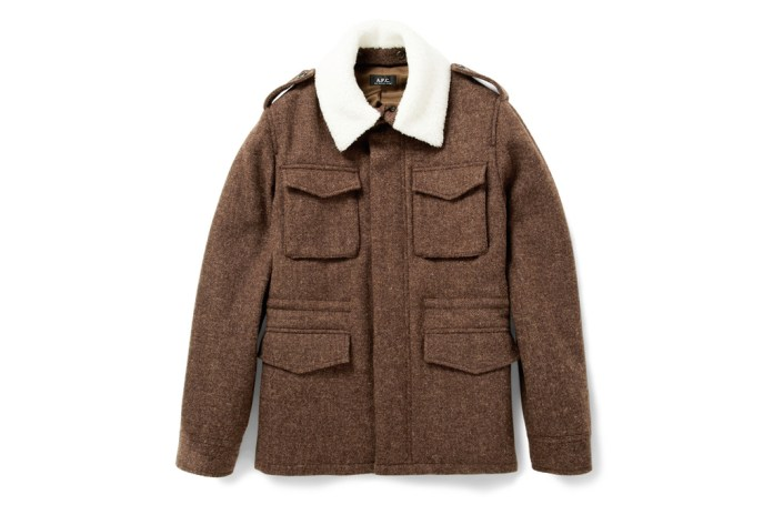 A.P.C. Heavyweight Harris Tweed Jacket