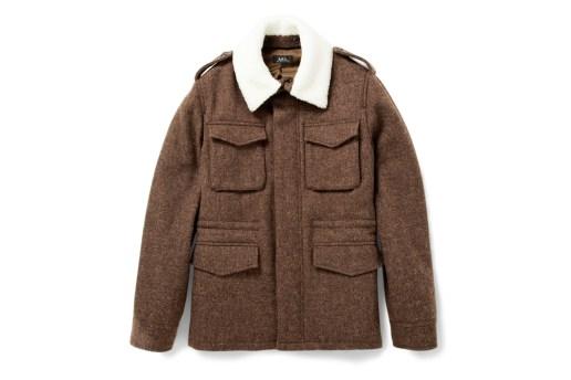 A.P.C. Heavyweight Harris Tweed Jacket