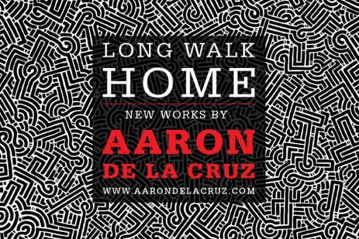 """Aaron De La Cruz """"Long Walk Home"""" Exhibition @ Loft in Space"""