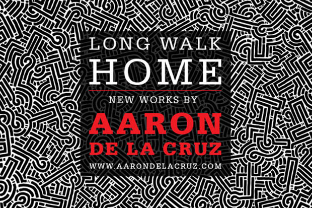 aaron de la cruz long walk home exhibition loft in space