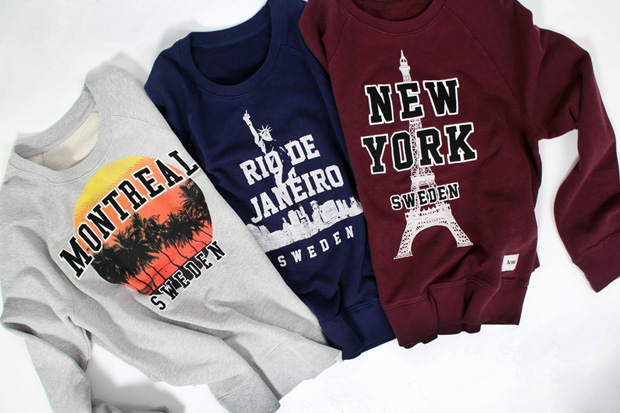 acne 2011 fallwinter college sweaters