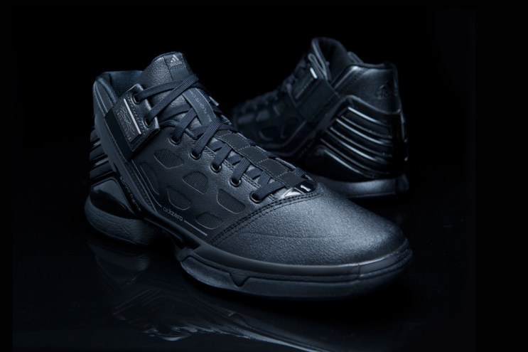 "adidas adiZero Rose 2 ""Triple Black"""