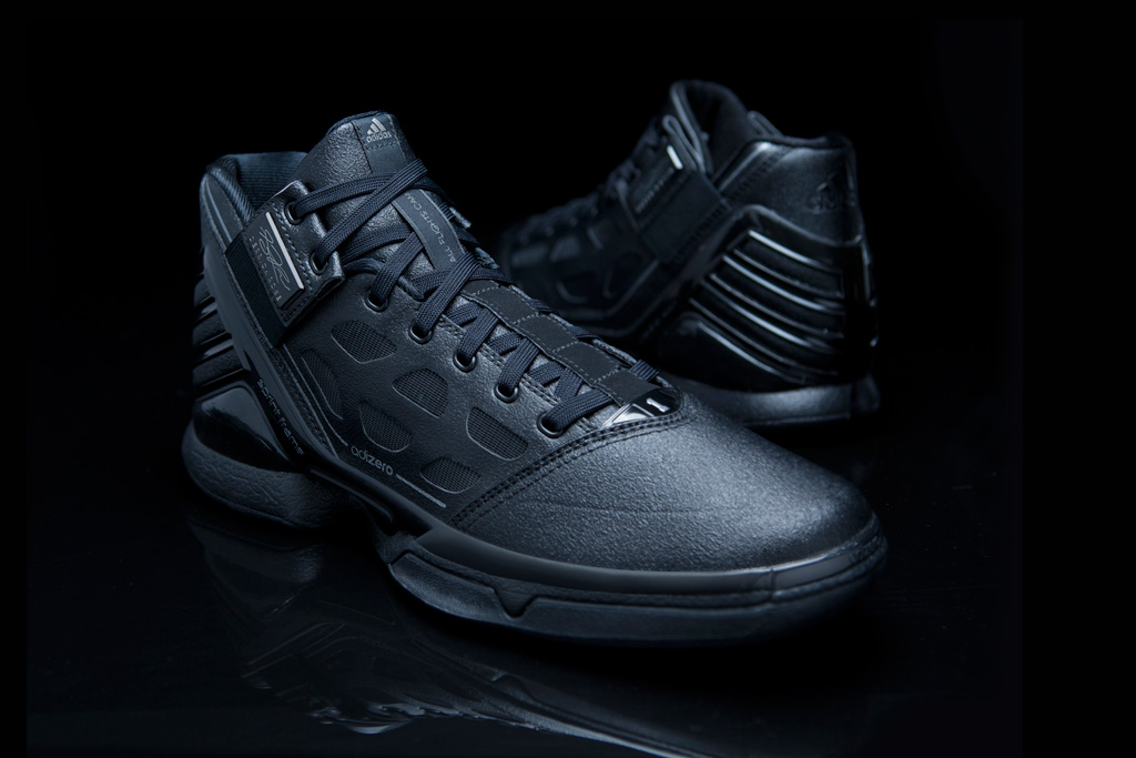 adidas adizero rose 2 triple black