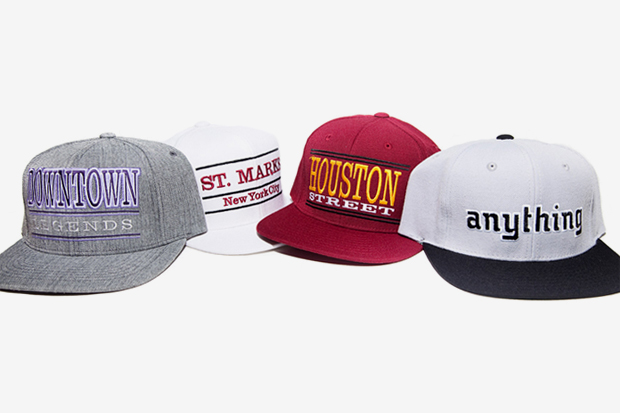 aNYthing Starter Snapback Caps