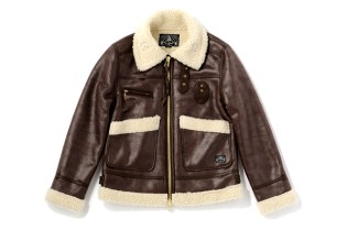BAL Mouton Bomber Jacket