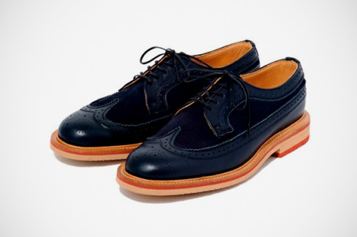 BAL x Sanders Long Wing Brogue