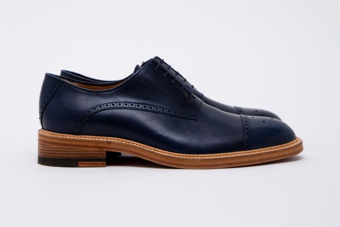 Band of Outsiders Classic Shoes Blue Navy