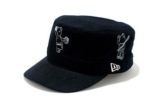 Bearbrick x New Era 100% Collection