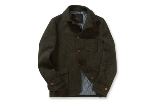 Ben Sherman Modern Classics Harris Tweed Driving Jacket