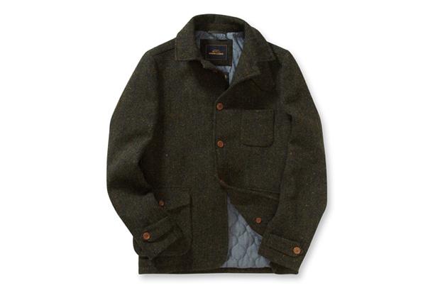 Ben Sherman Modern Classics Harris Tweed Driving Jacket