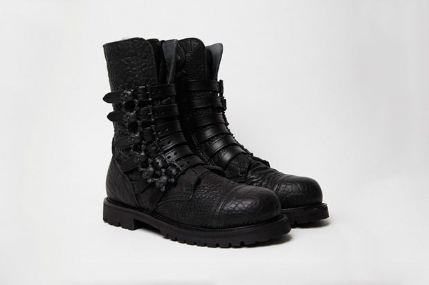 Bernhard Willhelm x Camper 2011 Fall/Winter Toðer Skull Boots