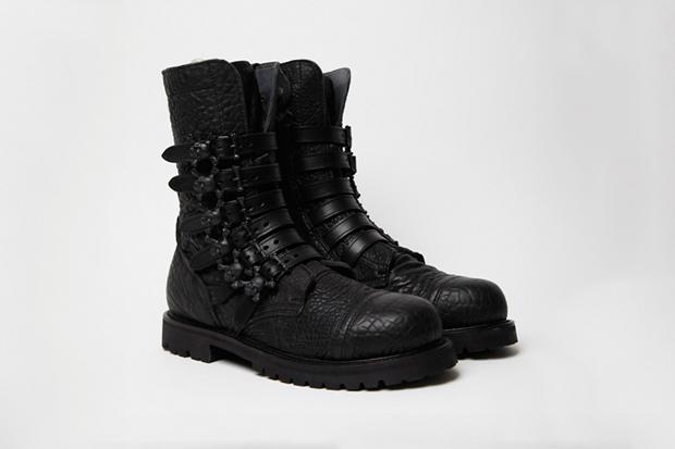 bernhard willhelm x camper 2011 fallwinnter toder skull boots