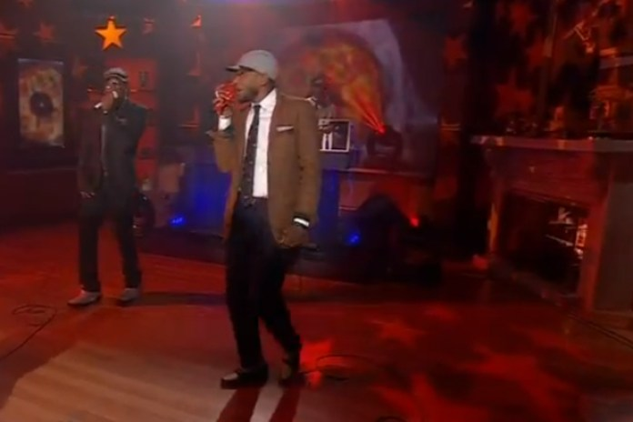 Black Star - Fix Up (Live on Colbert Report)