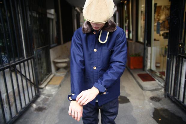 Bleu de Paname Veste de Comptoir Hiver Jacket