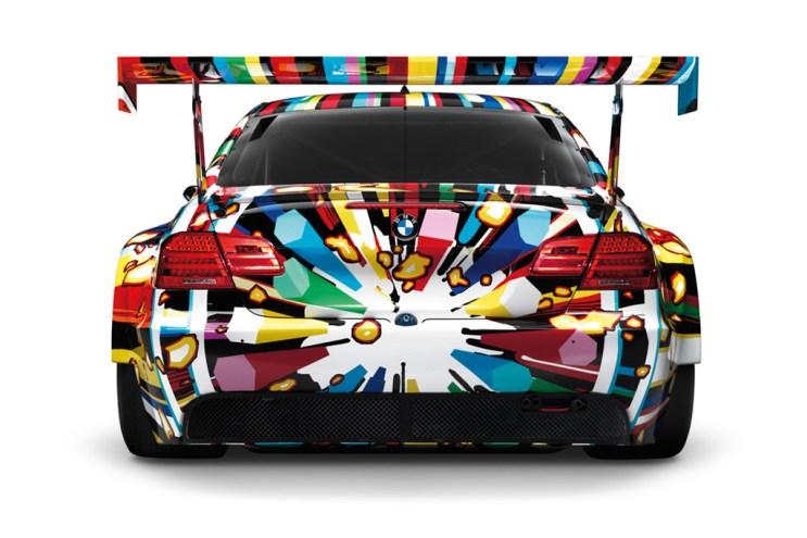 BMW M3 GT2 by Jeff Koons 1:18 Art Car Model